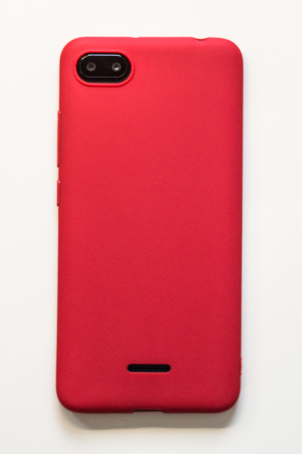 Redmi 6A szilikon tok (Forcell), piros