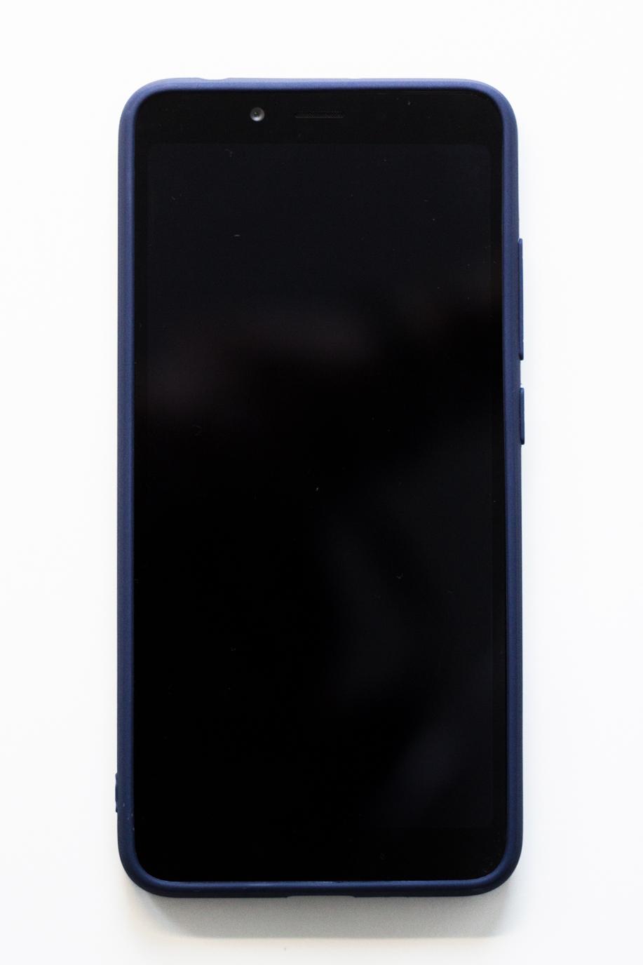 Redmi 6A szilikon tok (Forcell), sötétkék