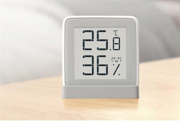 Xiaomi miaomiao hőmérséklet és páratartalom érzékelő