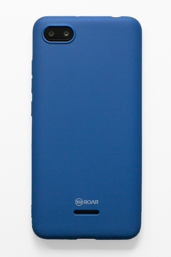 Redmi 6A szilikon tok (Roar), navy blue