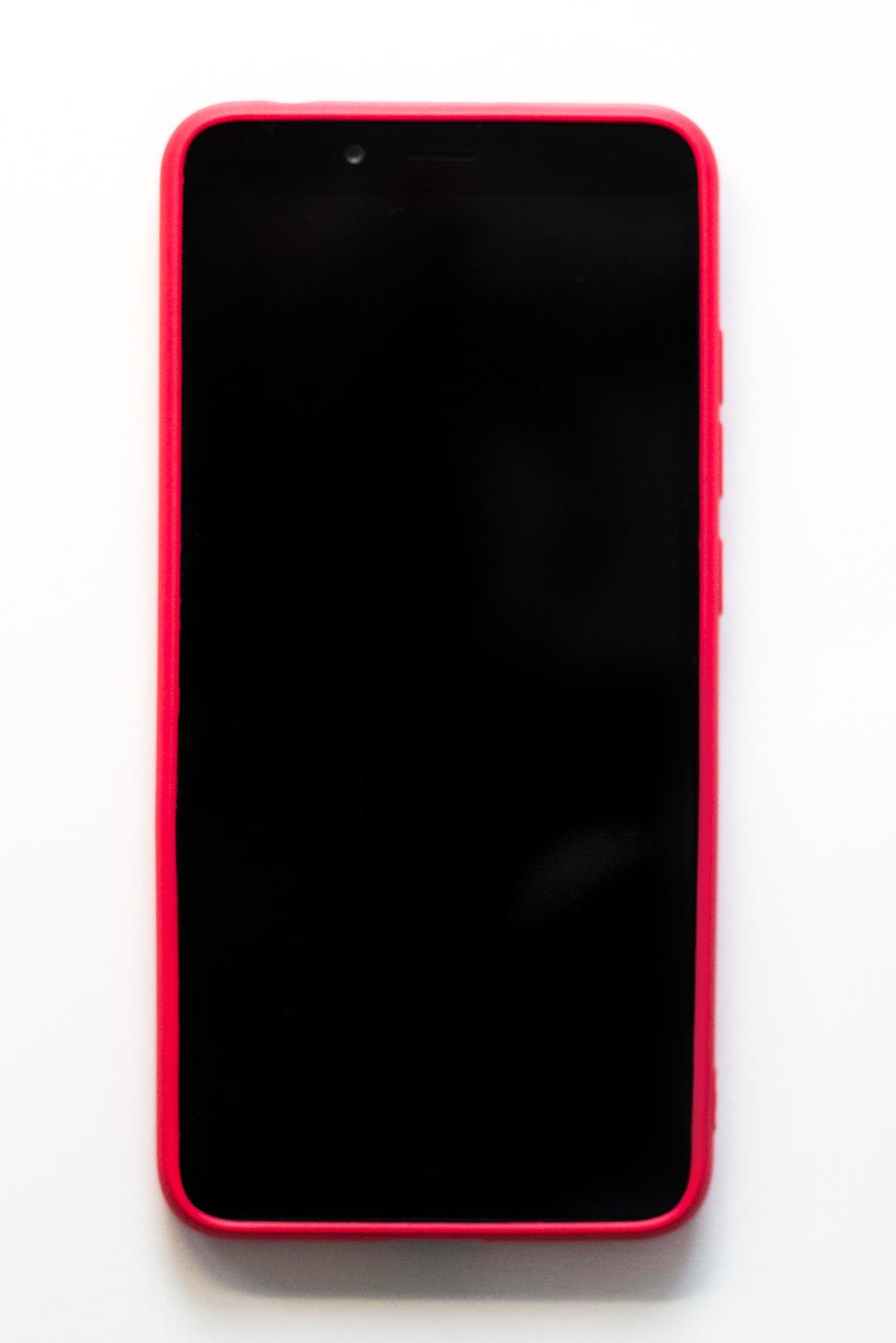Redmi 6A szilikon tok (Roar), hot pink