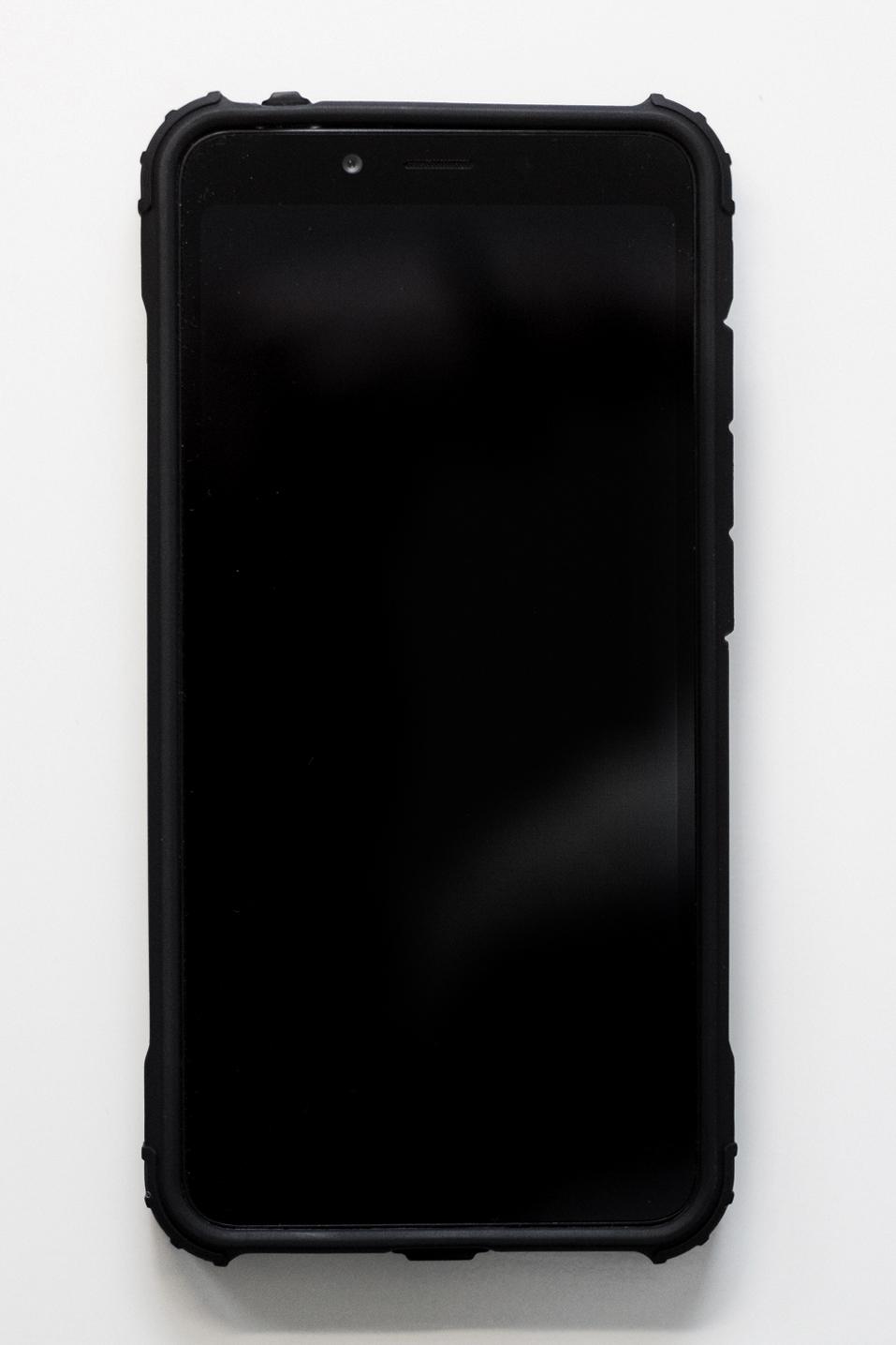 Redmi 6A szilikon tok (Forcell ARMOR), fekete
