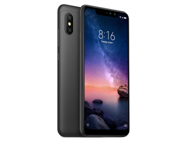 Redmi Note 6 Pro okostelefon - 4+64GB, fekete - B20