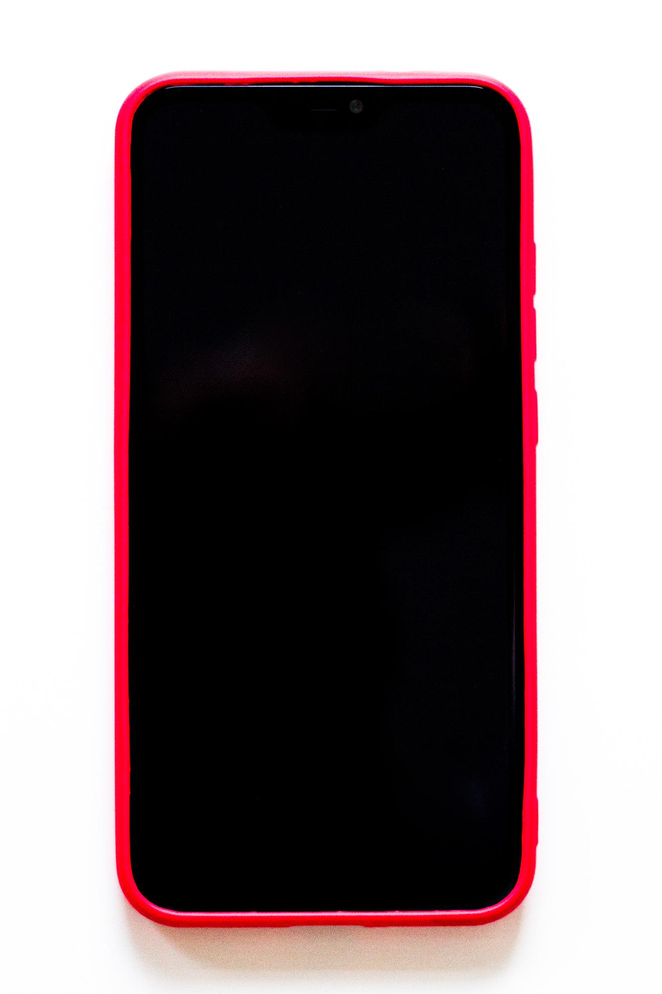 Redmi 6 Pro / Mi A2 Lite szilikon tok (Forcell), piros