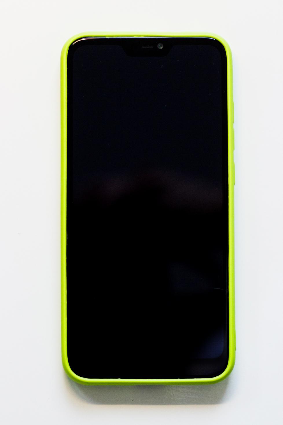 Redmi 6 Pro / Mi A2 Lite szilikon tok (Roar), lime