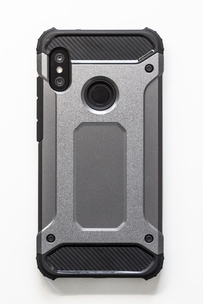 Redmi 6 Pro / Mi A2 Lite szilikon tok (Forcell) ARMOR, szürke