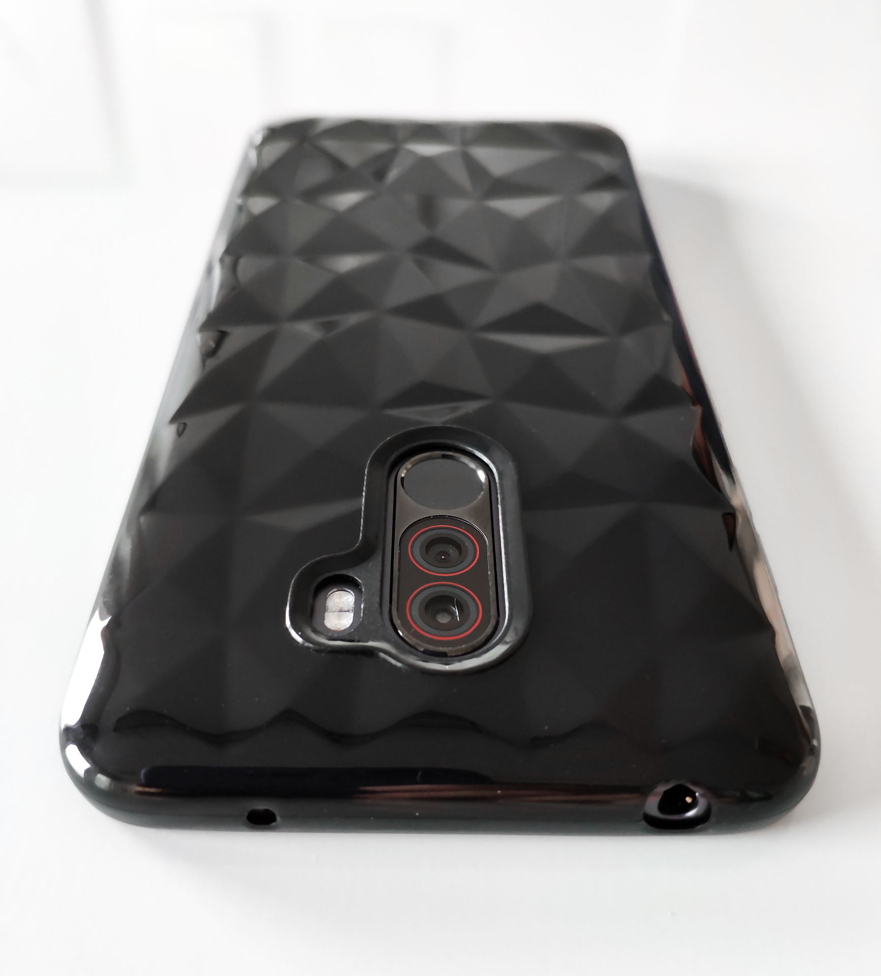 Pocophone F1 szilikon tok (Forcell PRISM), fekete