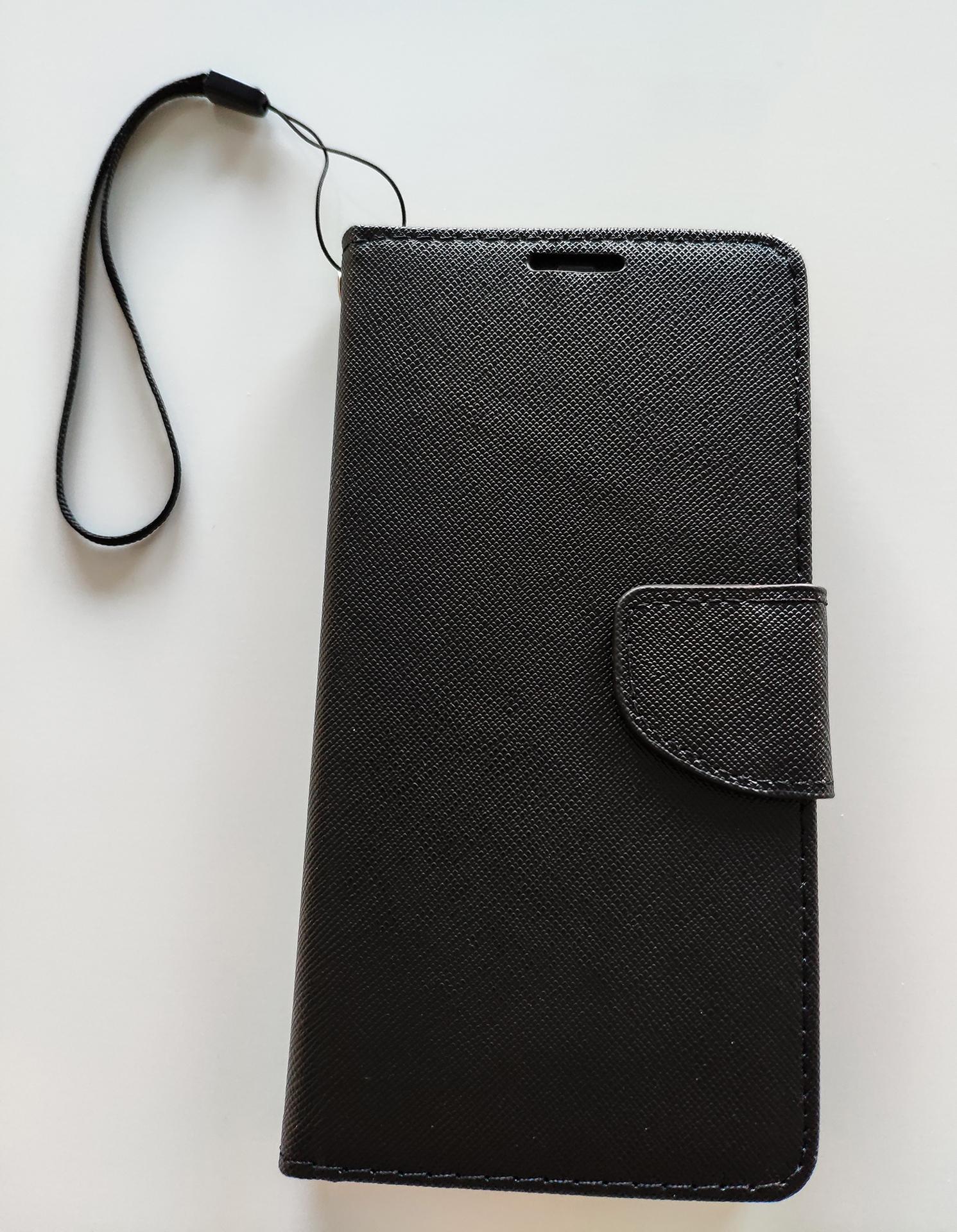 Pocophone F1 Fancy Book flip tok, fekete