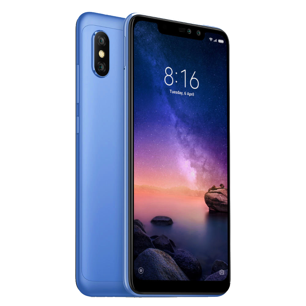 Smartphone Redmi Note 6 Pro - B20 - 4+64GB - Albastră