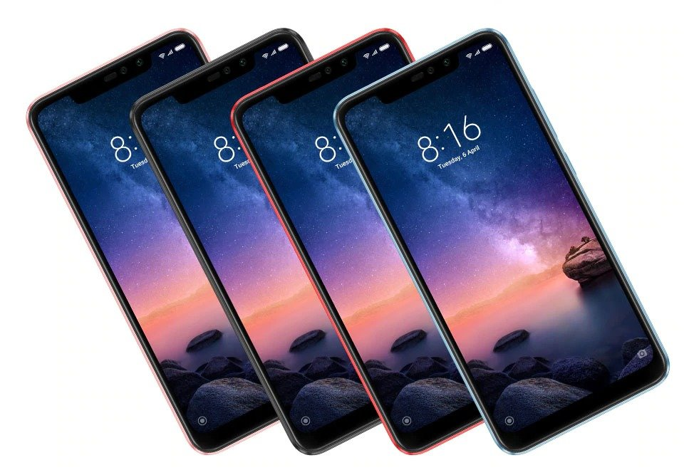 Redmi Note 6 Pro okostelefon - 4+64GB, rózsaszín - B20