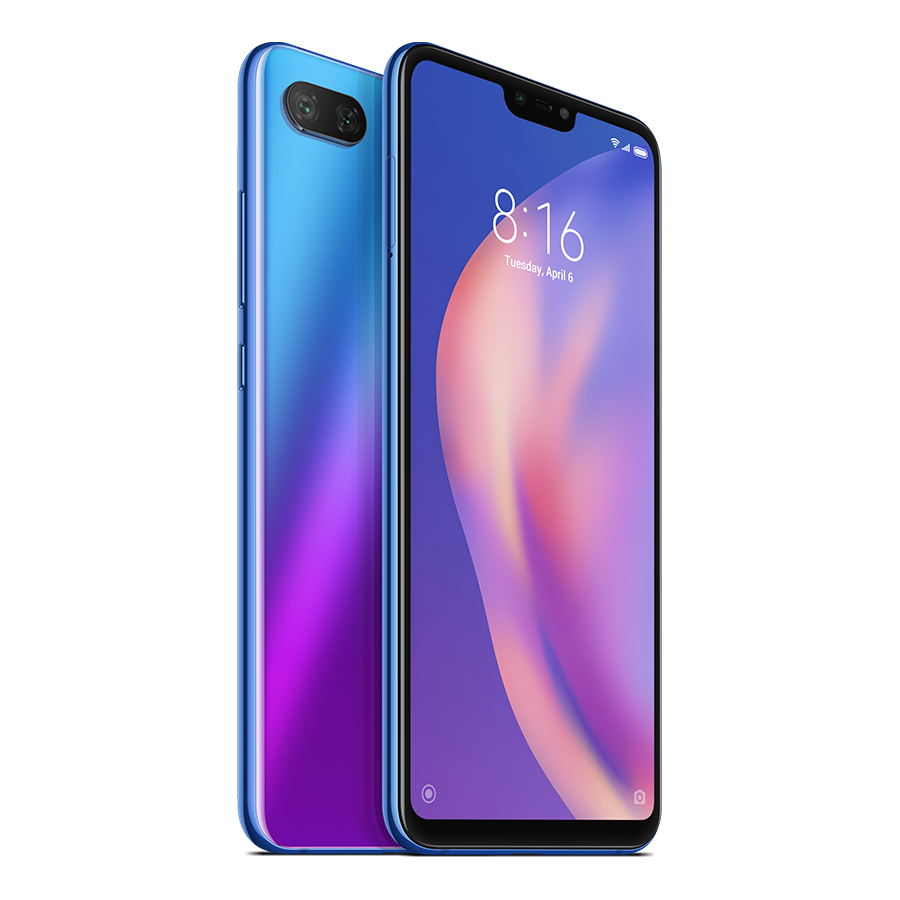 Smartphone Mi 8 Lite - Global, 4+64GB, Albastră