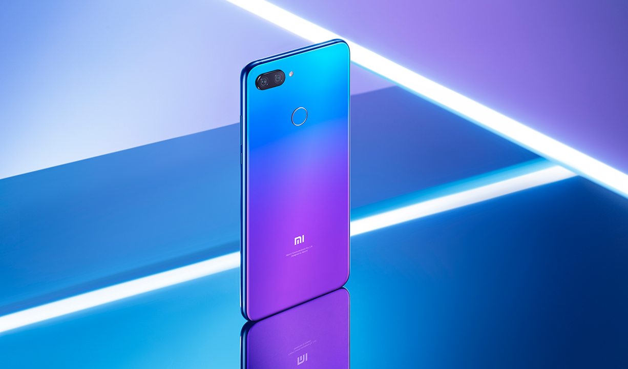 Smartphone Mi 8 Lite - versiunea Global - 6+128GB - Albastră
