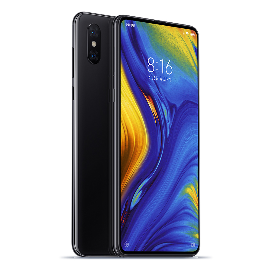Mi MIX 3 okostelefon - 8+128GB, fekete