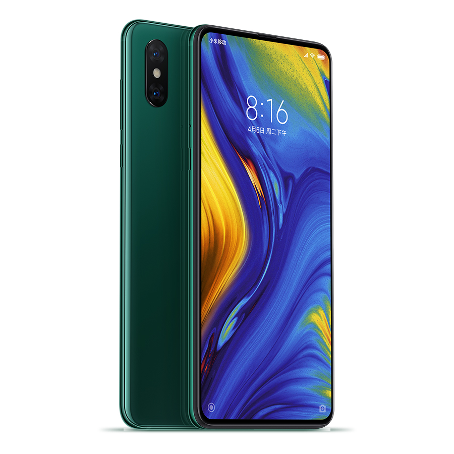Mi MIX 3 okostelefon - 8+128GB, smaragdzöld