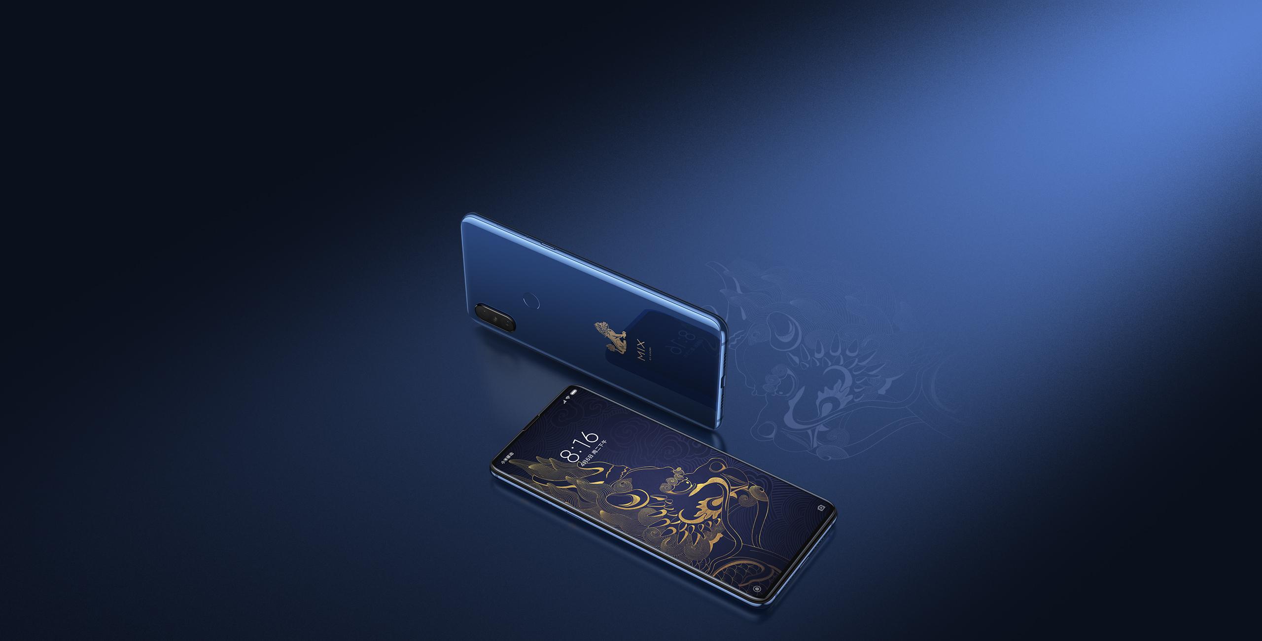 Mi MIX 3 okostelefon - 10+256GB, Tiltott Város Speciális Kiadás