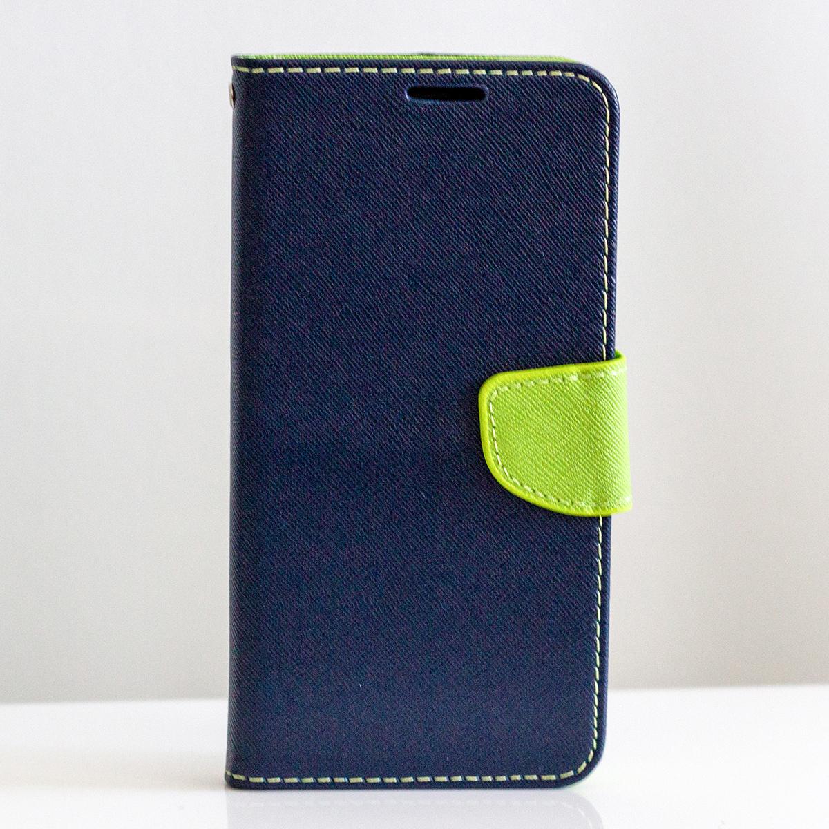 Redmi Note 5 / Note 5 Pro Fancy Book flip tok, sötétkék - Lime