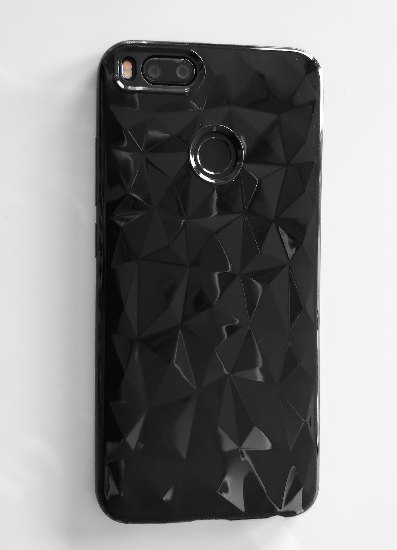 Mi A1 / 5X  szilikon tok Forcell Prism, fekete