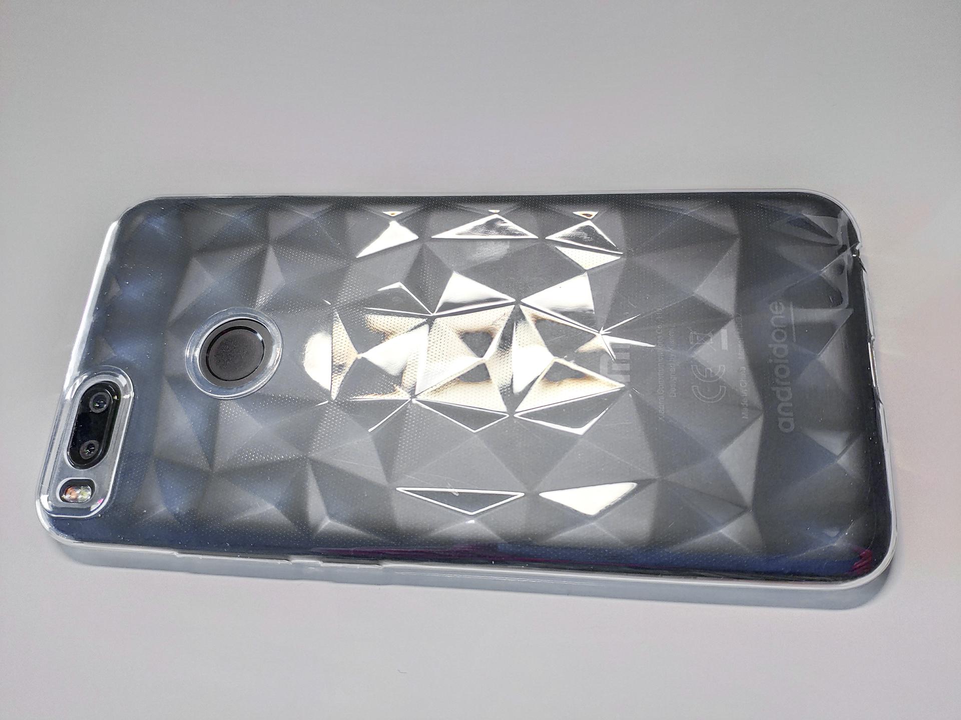 Mi A1 / 5X  szilikon tok Forcell Prism, átlátszó