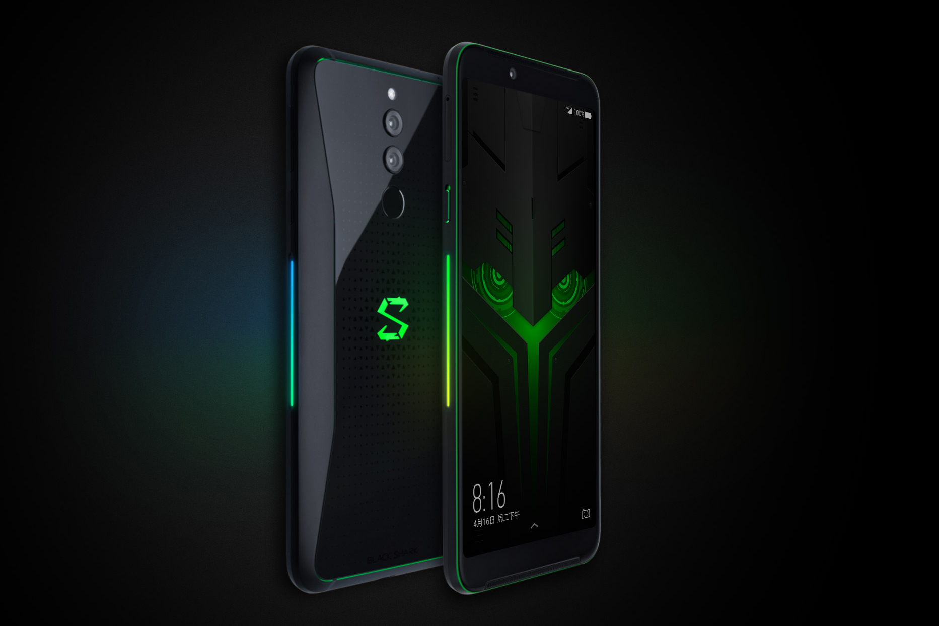 Black Shark Helo okostelefon 8+128GB - fekete