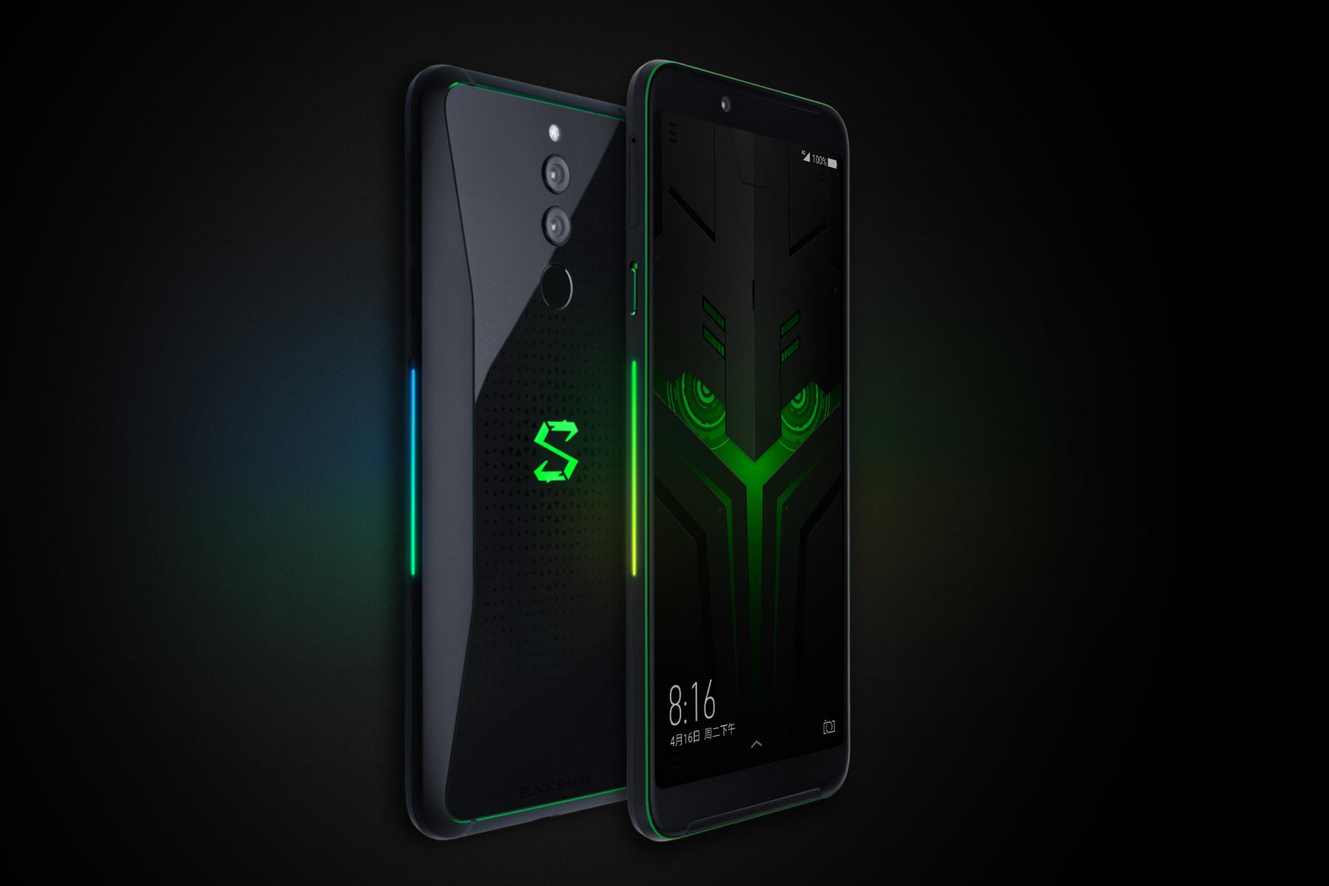 Black Shark Helo okostelefon 10+256GB - fekete
