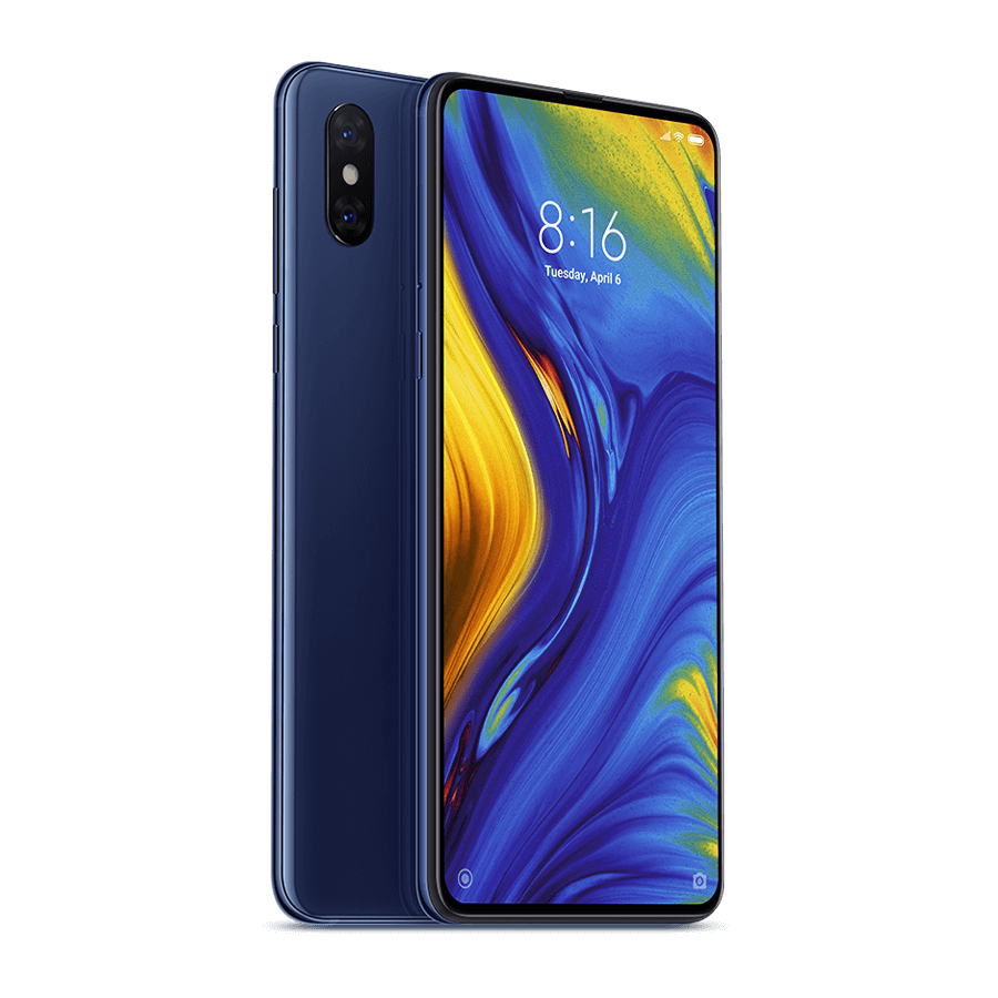 Smartphone Mi MIX 3 - 6+128GB - versiunea Global, Albastră