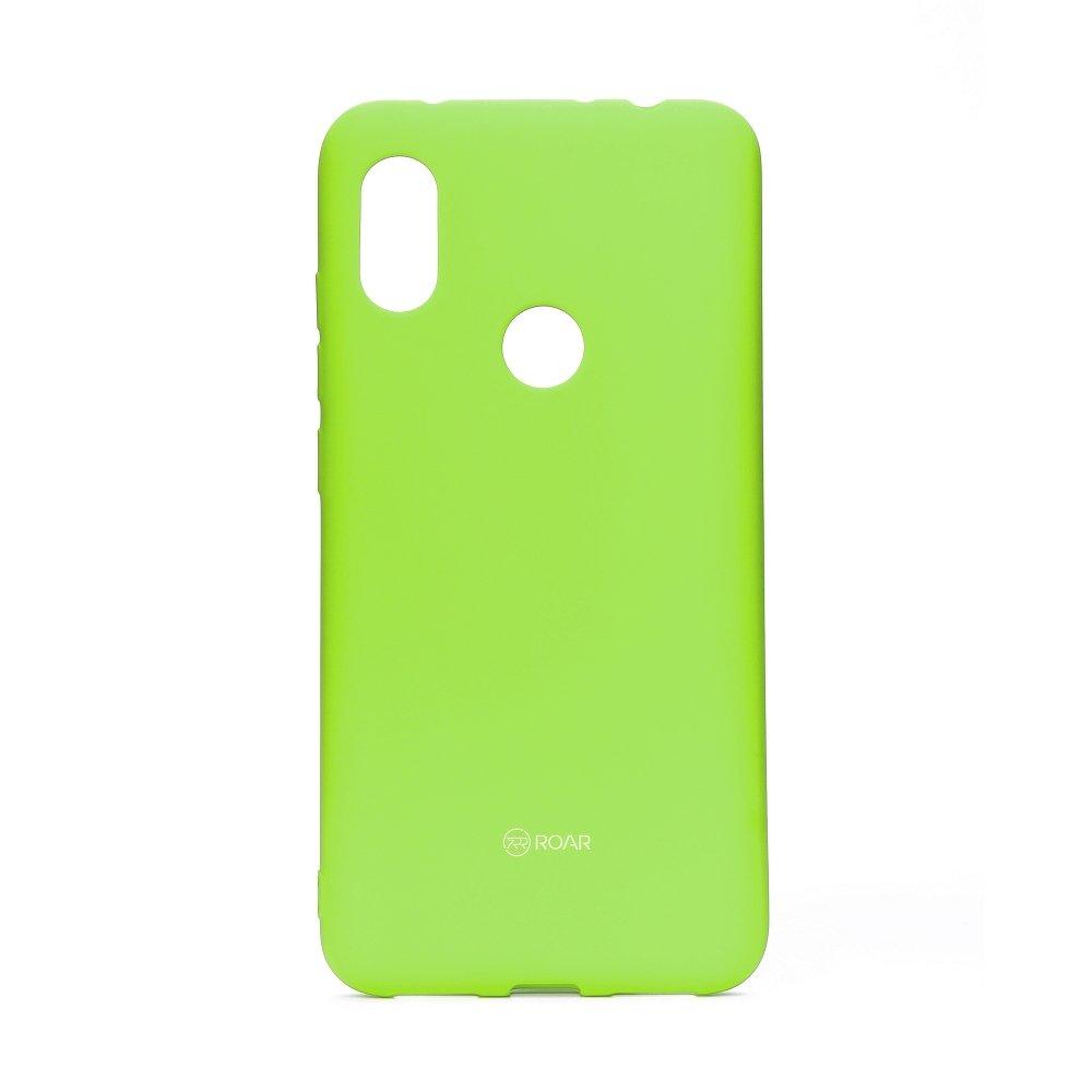 Redmi Note 6 Pro szilikon tok, lime zöld