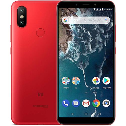 Mi A2 okostelefon - 4+64GB, piros