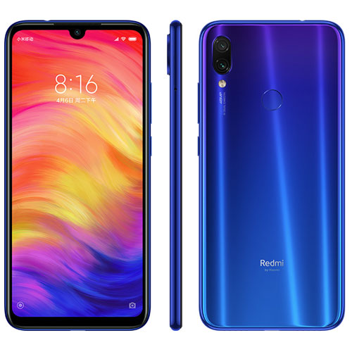 Redmi Note 7 okostelefon (Global) - 4+64GB, kék