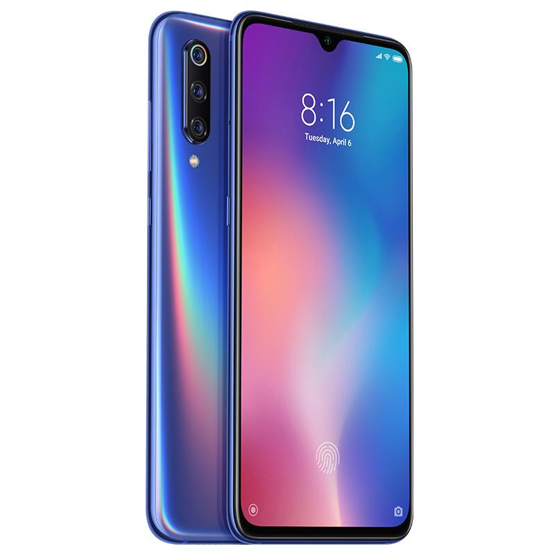 Mi 9 okostelefon 6+64GB, óceán kék