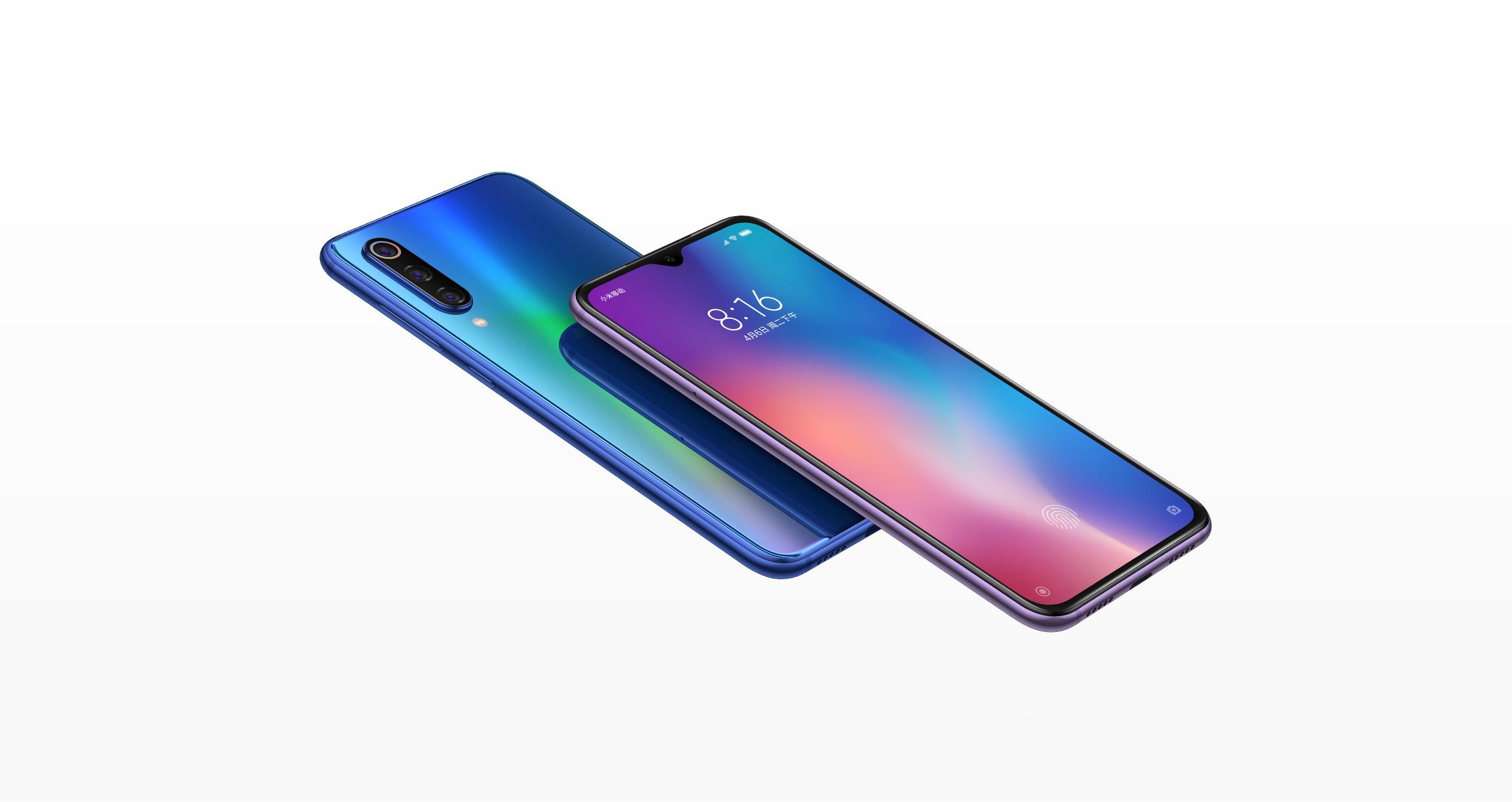 Mi 9 SE okostelefon 6+64GB, óceán kék