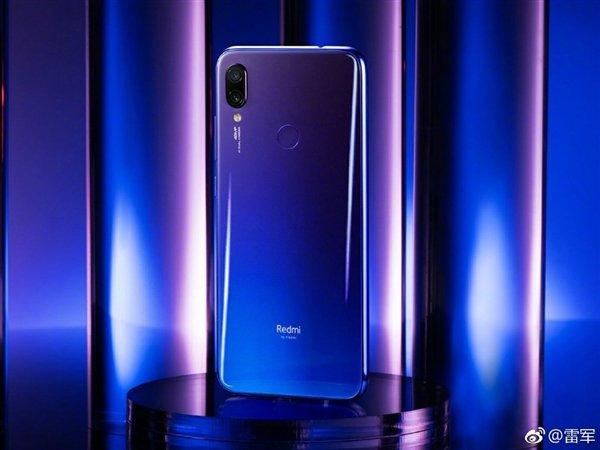 Redmi Note 7 okostelefon (Global) - 4+128GB, kék