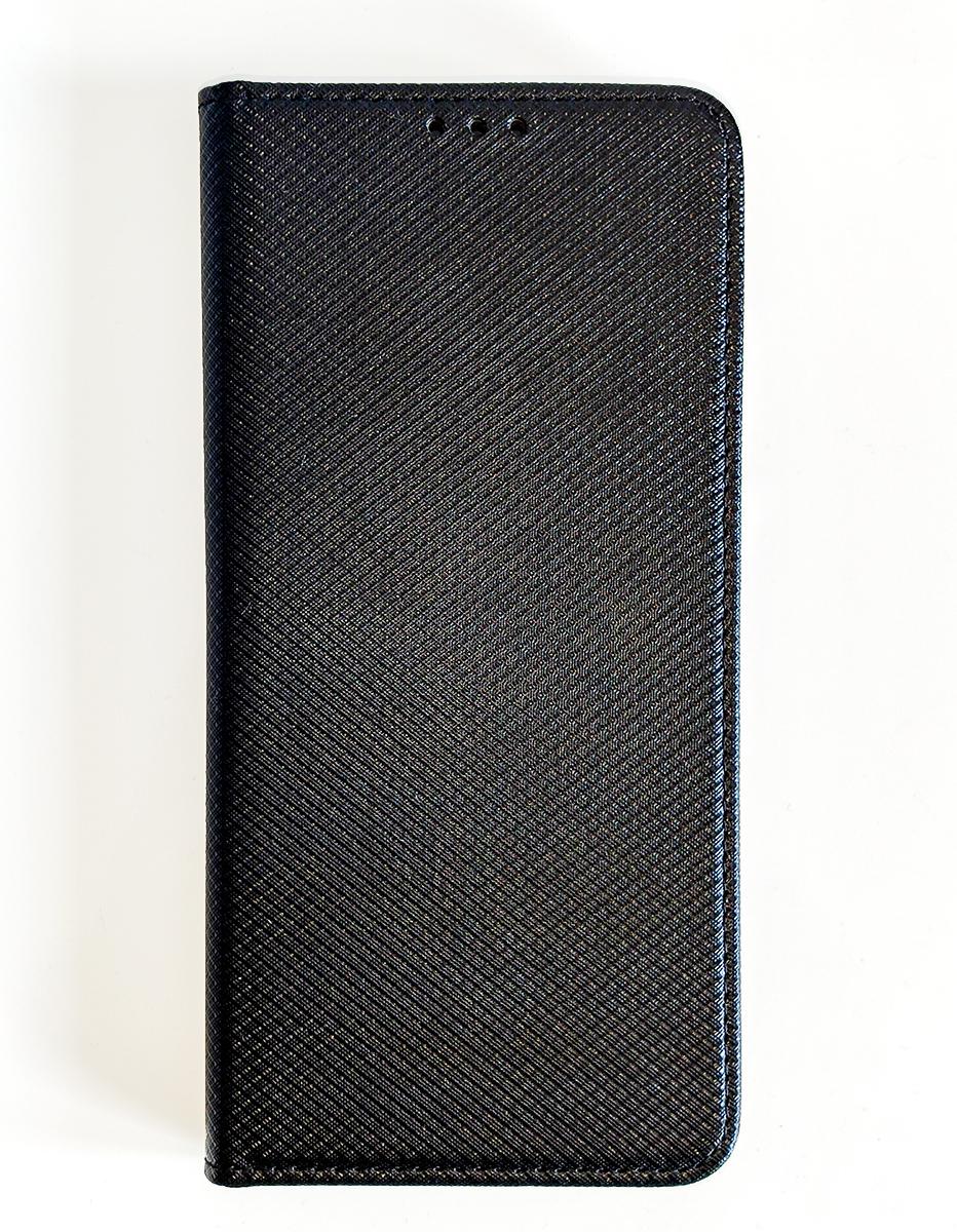 Husă Redmi 7 - tip Fancy book flip (cu deschidere laterală) -  Neagră