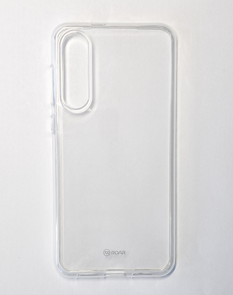 Husă silicon Mi 9 SE (Roar) - transparent/clear view