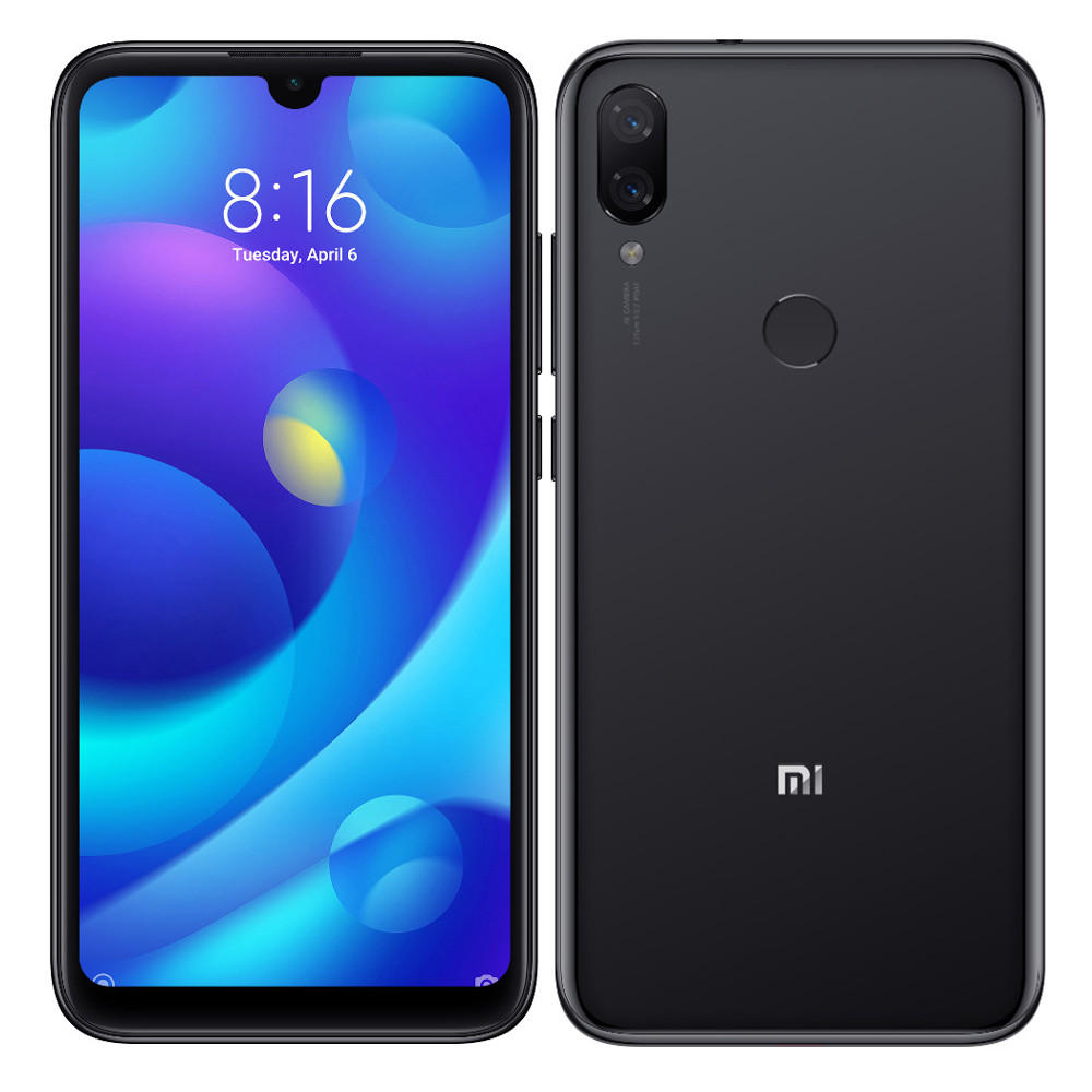 Mi Play okostelefon (Global) - 4+64GB, Space Black