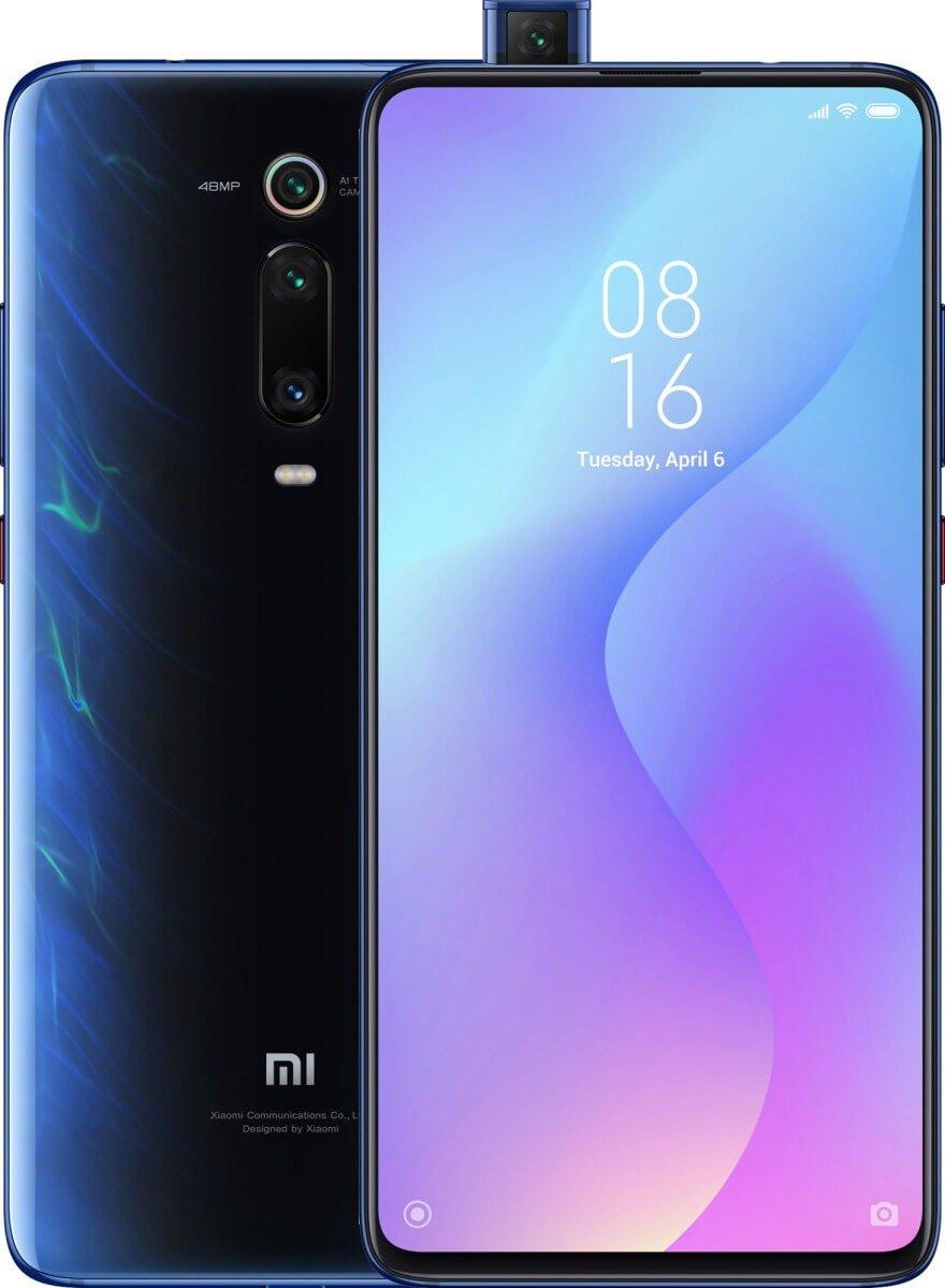Mi 9T okostelefon 6+128GB, gleccser kék