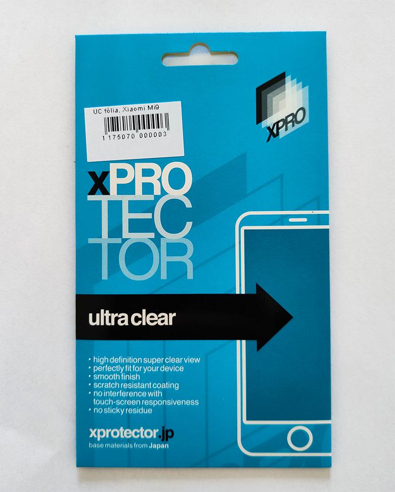 Mi 9 kijelzővédő fólia - XPRO-UC, víztiszta