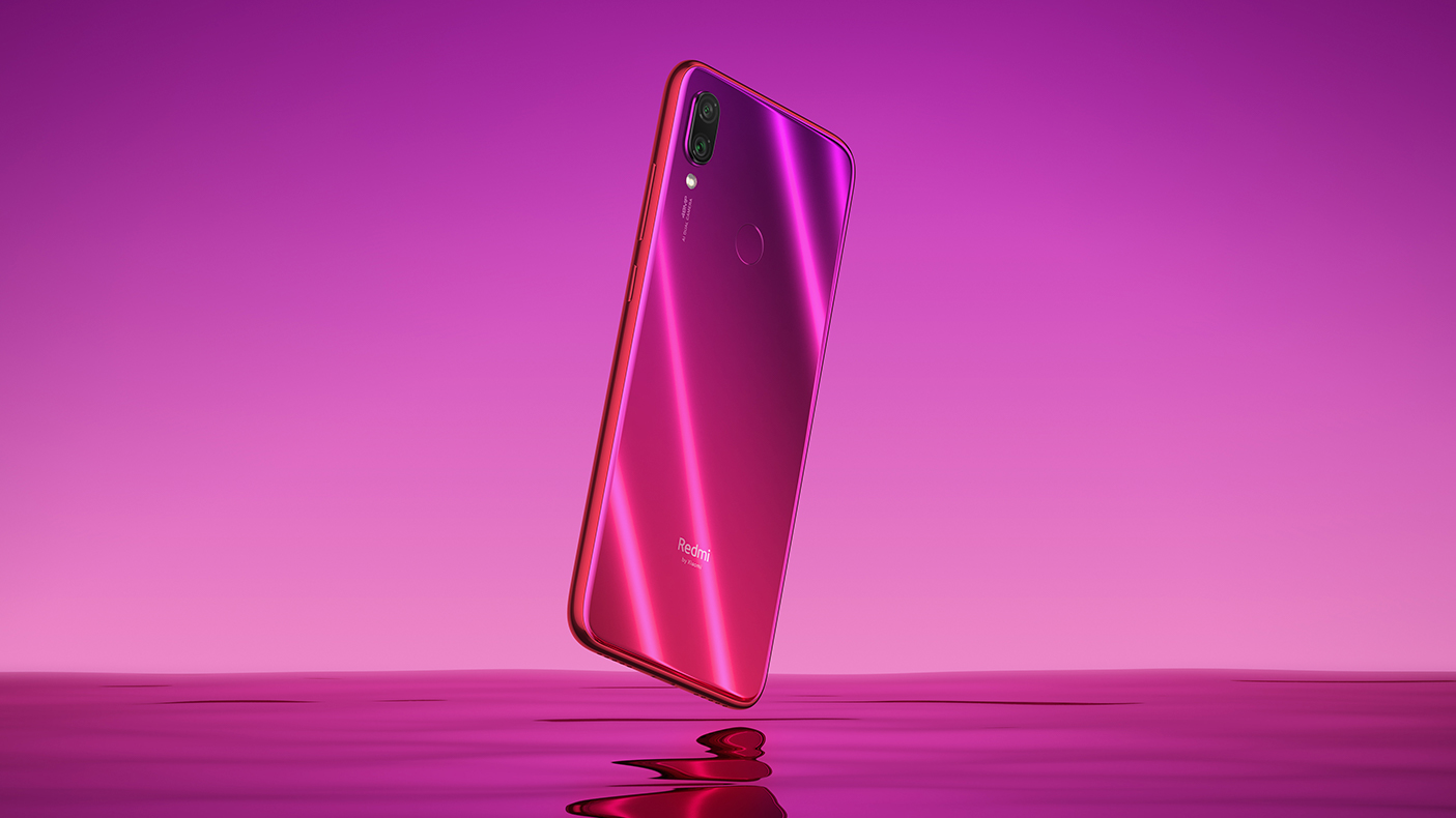 Redmi Note 7 okostelefon (Global) - 3+32GB, Nebula red