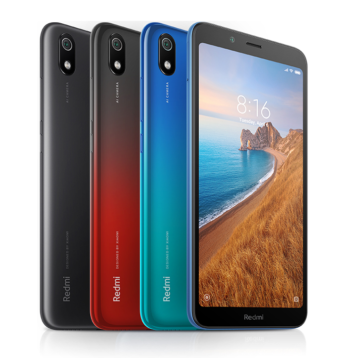 Smartphone Redmi 7A - Global - 2+16GB - Neagrā