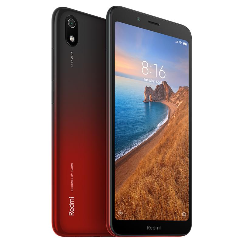 Redmi 7A okostelefon - 2+16GB, Hold vörös - B20