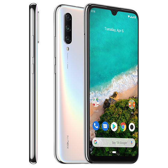 Mi A3 okostelefon - 4+64GB, fehér