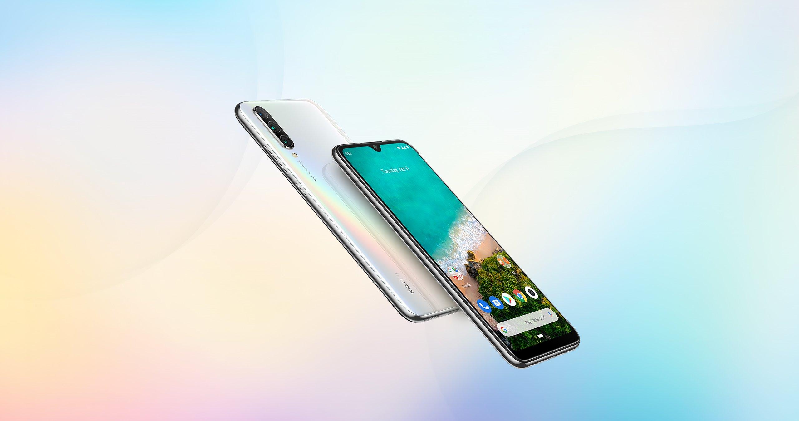 Smartphone Mi A3 - 4+64GB - Alb