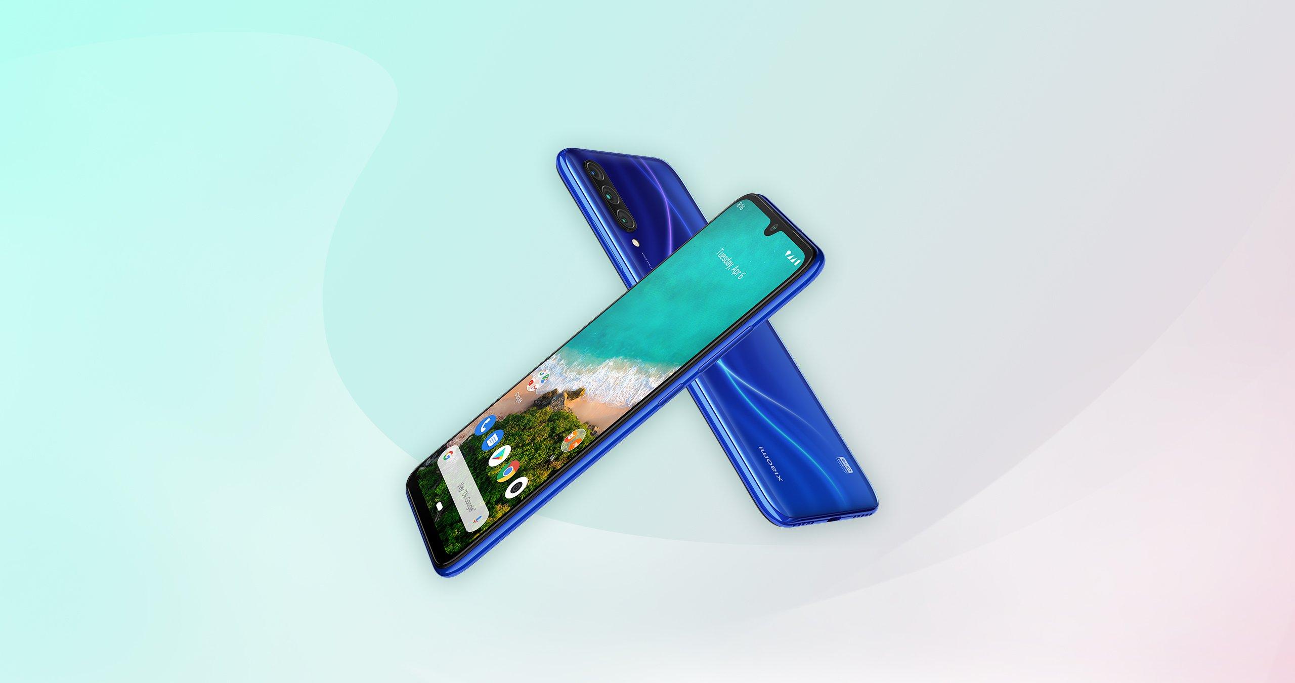 Smartphone Mi A3 - 4+64GB - Albastră