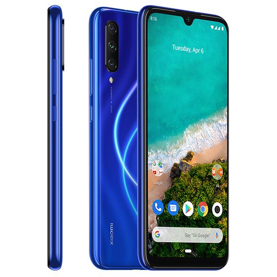 Mi A3 okostelefon - 4+128GB, kék