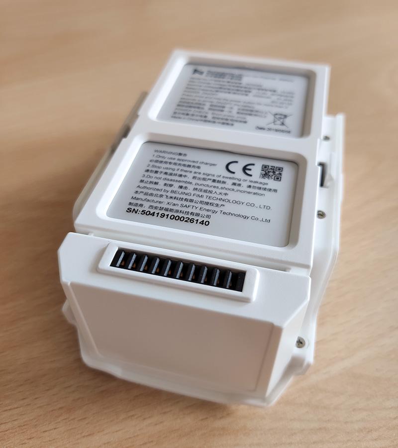 Fimi X8 SE gyári (DC02A5) akkumulátor, fehér