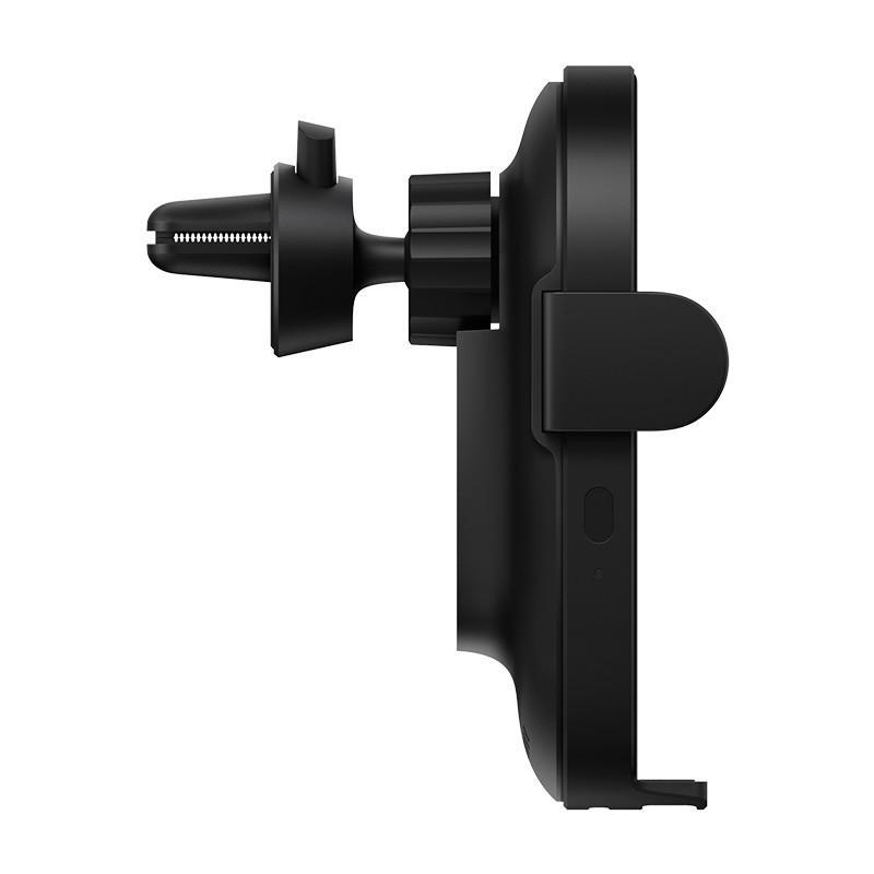 Xiaomi Mi 20W Qi vezeték nélküli autós gyorstöltő (WCJ02ZM), fekete