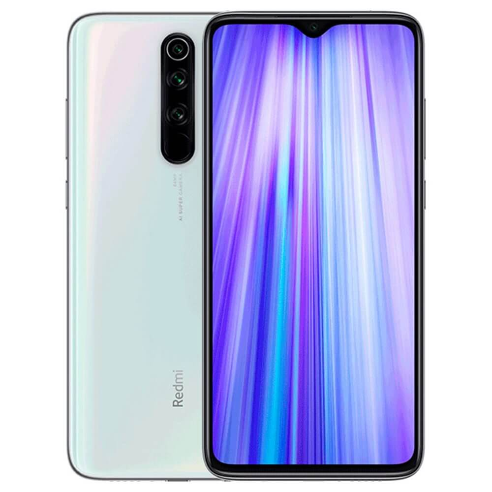 Smartphone Redmi Note 8 Pro - Global - 6+128GB - Alb Perlă