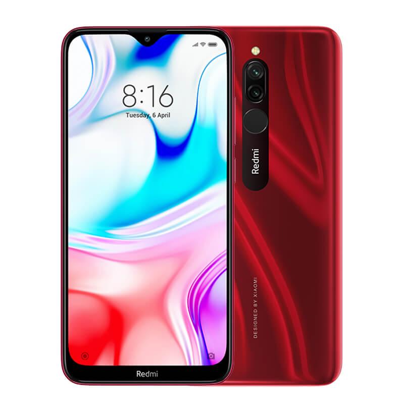 Smartphone Redmi 8 - 4+64GB - Global - Roșu