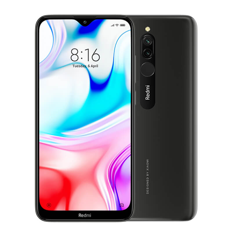 Smartphone Redmi 8 - 4+64GB - Global - Neagră
