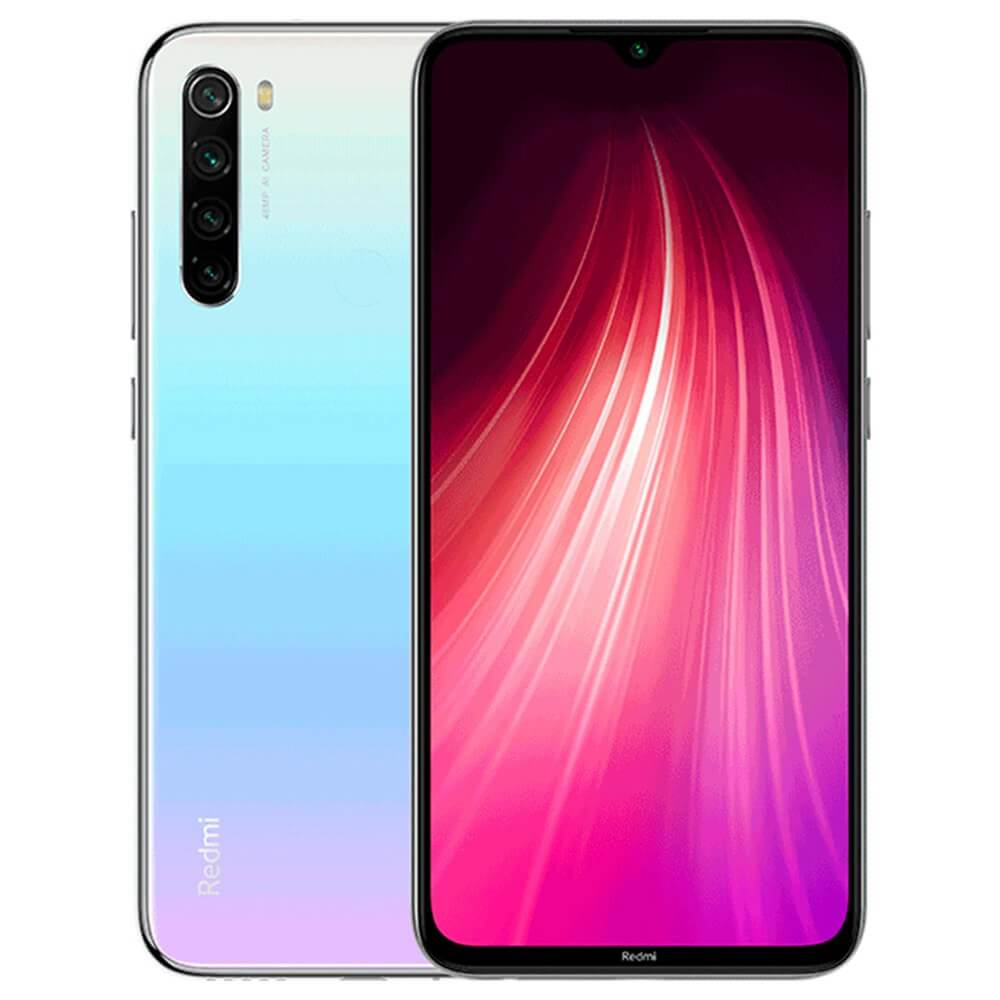 Smartphone Redmi Note 8 - 4+128GB - Global - Alb