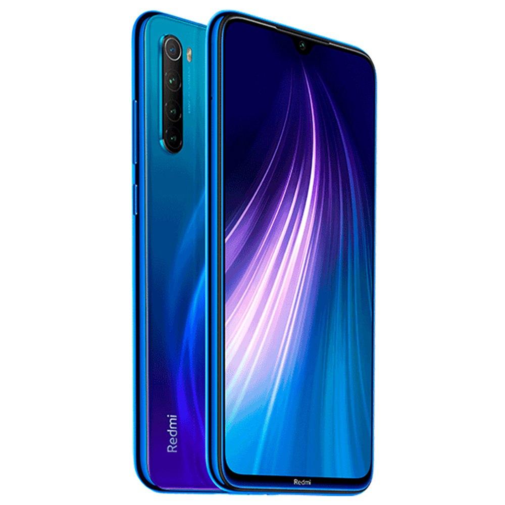 Smartphone Redmi Note 8 - 4+128GB - Global - Albastră